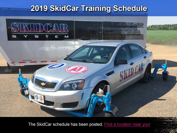 2019 Skid Car Schedule